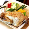 安美 - 料理写真:鶏がまるごと!焼ちゃんこ