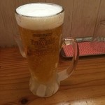 りんすず食堂 - 生ビール