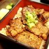 炭豚亭 - 料理写真:味噌豚重(みそぶたじゅう) 2015.09.05撮影