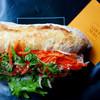 SAWAMURA - 料理写真:塩豚と香草のサンド