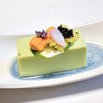 41753123 - 【先付】枝豆卵豆腐