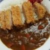 草加新田市場食堂 - 料理写真:カツカレーランチ500円