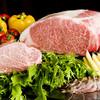 鉄板焼カンナ - 料理写真:岡山特産の千屋牛サーロイン と シャトーブリアン(フィレ)
