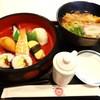 和風レストラン 杏 - 料理写真:天ぷらうどんセット1080円+コーヒー400円 計1480円