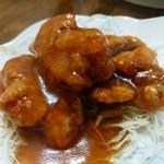 新華苑 - 料理写真:ザンキの甘酢