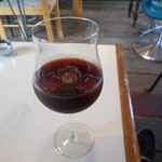 41805448 - 再訪、最高の逸品!香り高く酔えるアイスコーシーをワイングラスで