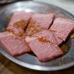 焼肉 はせ川 - 料理写真:ザブトン(1,580円)