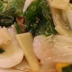 孔子膳堂 - 海鮮の具よりも野菜がたっぷり 2015.9