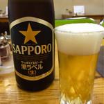 寿苑 - 電車で来たのでビールが飲める