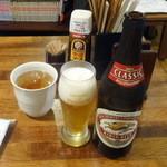 旬菜厨房 恵比須屋 - ラガー瓶540円