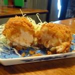 旬菜厨房 恵比須屋 - カニクリームコロッケ単品220円