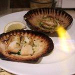 ハンバーグ ウィル - ホタテ貝