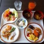 カンデオホテルズ - 朝食バイキング