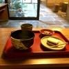 藤江屋分大 - 料理写真:いただいたのは、お抹茶と明石もなか