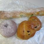 アンコル ド パン - 料理写真:選ばせていただいたパンは全部で3種類です。