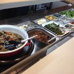 ザファームカフェ - メインのお料理とお野菜