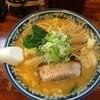 小松屋 - 料理写真:辛味噌ラーメン+野菜まし 2015.9