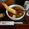 島彦本店 - 料理写真:海老天入りカレー蕎麦(1,300円)