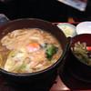 長寿庵 - 料理写真:味噌煮込みうどんセット