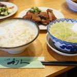 牛たん炭焼き 利久 - 牛タン定食(1.5人前)