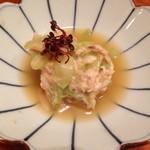 祇園 かわもと - 鯖寿司で締めくくるおまかせ料理¥10,000-