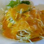 ン・オリジナルカレー - セットのサラダ