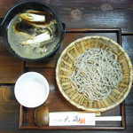 天通 - 料理写真:鴨汁そば…1300円