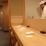 樋口 - カウンター席席 (2013/04)