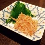 居酒屋 中西 - 鮫軟骨と梅水晶は最高の酒の肴だ!