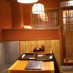大江戸 - テーブル席 (2015/09)