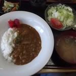 小春食堂 - カレーライスセット