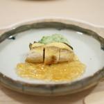 八雲茶寮 - 子持ち鮎の揚げ物