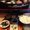 寿司 天狗 - 料理写真:刺身舟盛り定食(1080円) (2015.09現在)
