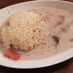 チャボ - 「煮豚のホワイトカレー」950円
