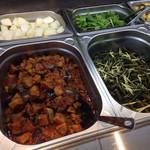 ザファームカフェ - 9/15おすすめメニュー ・生姜ごはん ・茄子のミートソースがけ ・空芯菜のおひたし
