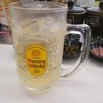 博多天ぷら なぐや - ドリンク写真: