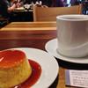 クローバー珈琲焙煎所 - 料理写真:プリン378円・ミディアムブレンド486円