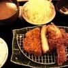 とんかつ平野 - 料理写真:ロースかつ膳+エビフライ1匹