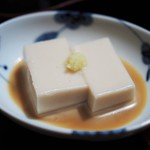 日本橋 皆美 - 清く正しい感じの胡麻豆腐