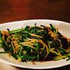 居酒屋 ひょう吉 - 料理写真:ニラもやし炒め