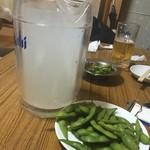 あさひ - レモンサワーは駄菓子屋の粉ジュース的な味!?