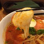 41942405 - 《モッツァレラ トマトスープ麺》790円                       モッツァレラチーズがトロけて♪                       2015/9/15