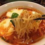 41942406 - 《モッツァレラ トマトスープ麺》790円                       2015/9/15