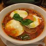 麺Dining セロリの花 - 《モッツァレラ トマトスープ麺》790円     2015/9/15