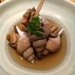 長八 - バイ貝煮 650円