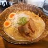 我羅奢 - 料理写真:鶏白湯ラーメン