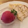 イタリア料理 ボン・パスト - 料理写真:Bランチのデザート ズコットとカシスシャーベット