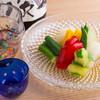 まな板の上の旬 ぽぽぽん - 料理写真:出汁香る朝倉冷菜盛り