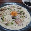 白石 うどん店 - 料理写真:和風カルボナーラ