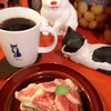 ンケリコ - 料理写真:ンケリコブレンド 大  と無花果と紅茶のタルト。